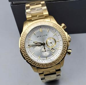 High Quality VERSACE Gold Dial Stainless Steel for Men   Watches for sale in Abuja (FCT) State, Asokoro