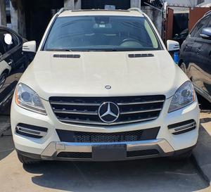 Mercedes-Benz M Class 2013 ML 350 4Matic White   Cars for sale in Lagos State, Lagos Island (Eko)