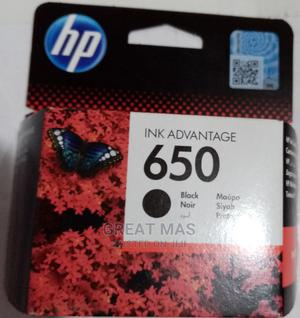 Hp 650 Inkjet Cartridge Black   Accessories & Supplies for Electronics for sale in Abia State, Aba North