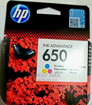 Hp 650 Inkjet Cartridge Colour   Accessories & Supplies for Electronics for sale in Abia State, Aba North