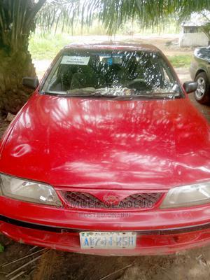 Nissan Almera 2001 Tino 1.8 Red   Cars for sale in Ogun State, Ilaro