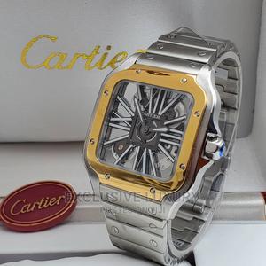 Silver Cartier Wrist Watch | Watches for sale in Lagos State, Lagos Island (Eko)