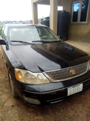 Toyota Avalon 2002 Black | Cars for sale in Abuja (FCT) State, Lugbe District
