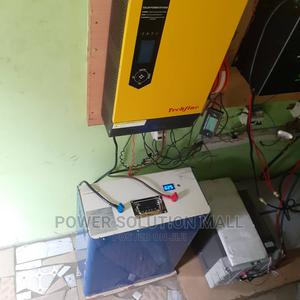 3.5kva Solar With PSW Hybrid Inverter Lithium Ion Battery   Solar Energy for sale in Lagos State, Yaba