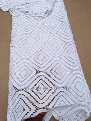 Cord Lace White Coloure | Wedding Wear & Accessories for sale in Lagos State, Lagos Island (Eko)