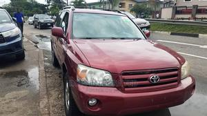 Toyota Highlander 2007 Red   Cars for sale in Lagos State, Surulere