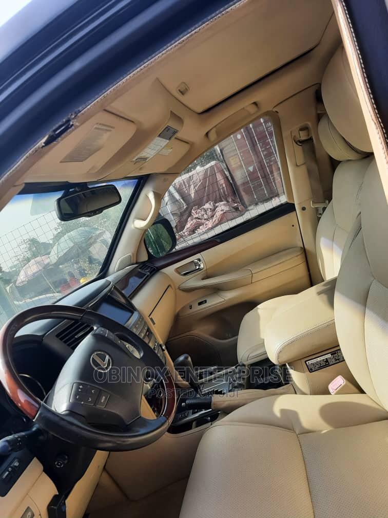 Lexus LX 2010 570 Black | Cars for sale in Garki 1, Abuja (FCT) State, Nigeria