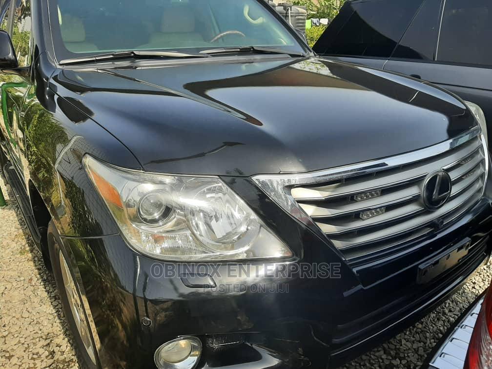 Lexus LX 2010 570 Black