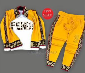 Original Turkey Made Fendi Designs Children Bodysuit    Children's Clothing for sale in Lagos State, Surulere