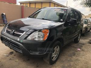Honda CR-V 2004 EX 4WD Automatic Black   Cars for sale in Lagos State, Ikeja