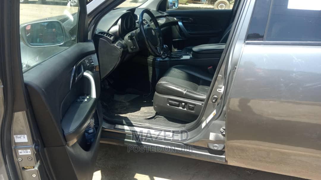 Acura MDX 2008 SUV 4dr AWD (3.7 6cyl 5A) Gray   Cars for sale in Shomolu, Lagos State, Nigeria