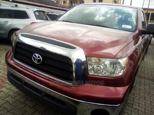 Toyota Tundra 2010 Regular Cab 4x4 Red | Cars for sale in Lagos State, Ikeja