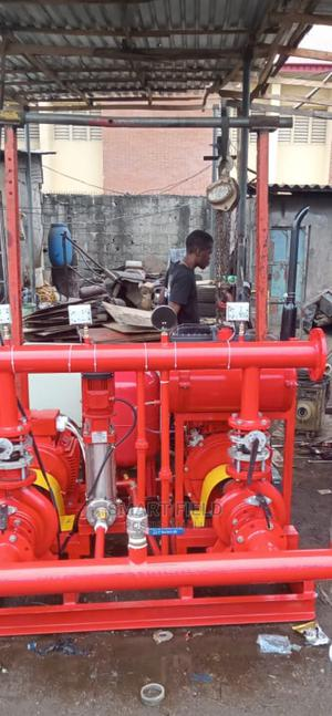Brand New Fire Hydrant Pump Coupled With Electric Motor   Plumbing & Water Supply for sale in Lagos State, Orile