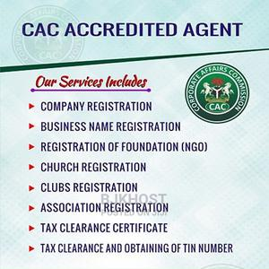 Register And Incorporate Your Business With CAC | Tax & Financial Services for sale in Lagos State, Alimosho