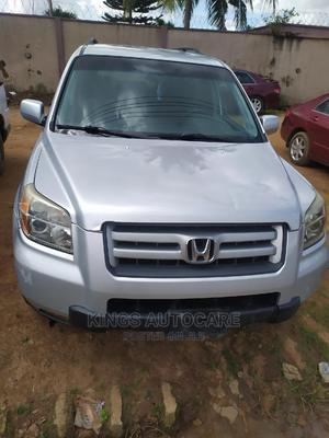 Honda Pilot 2006 EX 4x4 (3.5L 6cyl 5A) Silver | Cars for sale in Lagos State, Alimosho