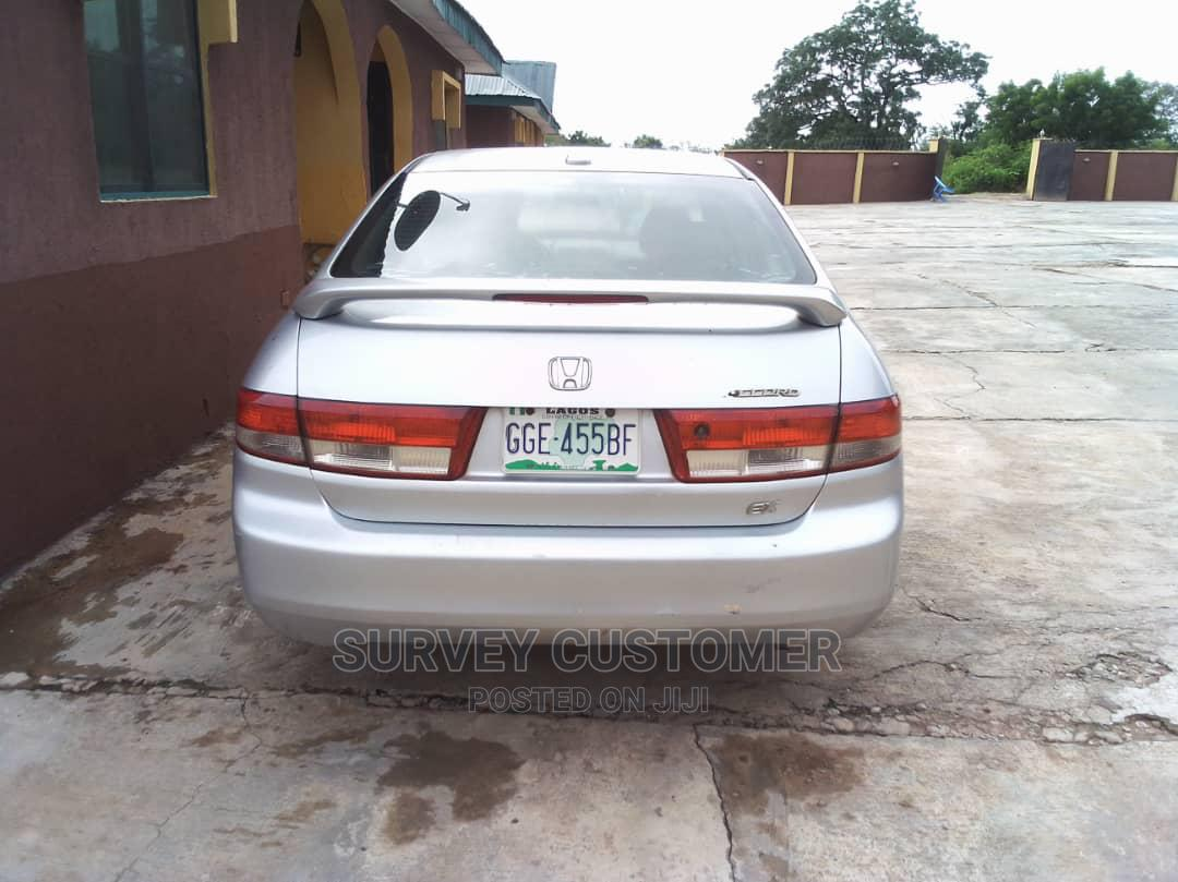 Honda Accord 2004 Automatic Silver | Cars for sale in Ilorin West, Kwara State, Nigeria