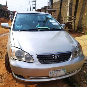 Toyota Corolla 2004 Sedan Automatic Silver | Cars for sale in Lagos State, Ikeja