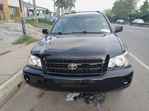Toyota Highlander 2003 Black | Cars for sale in Lagos State, Ikeja
