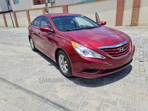 Hyundai Sonata 2012 Red | Cars for sale in Lagos State, Lekki