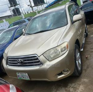 Toyota Highlander 2009 Limited Gold   Cars for sale in Lagos State, Ogba