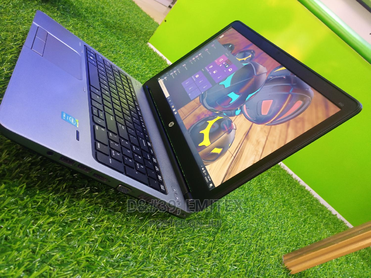 Laptop HP 650 G1 4GB Intel Core i5 HDD 320GB | Laptops & Computers for sale in Ajah, Lagos State, Nigeria