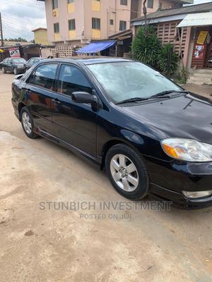 Toyota Corolla 2004 S Black   Cars for sale in Lagos State, Gbagada