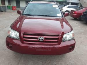 Toyota Highlander 2004 Red | Cars for sale in Lagos State, Isolo