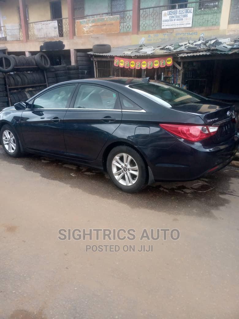 Hyundai Sonata 2013 Black