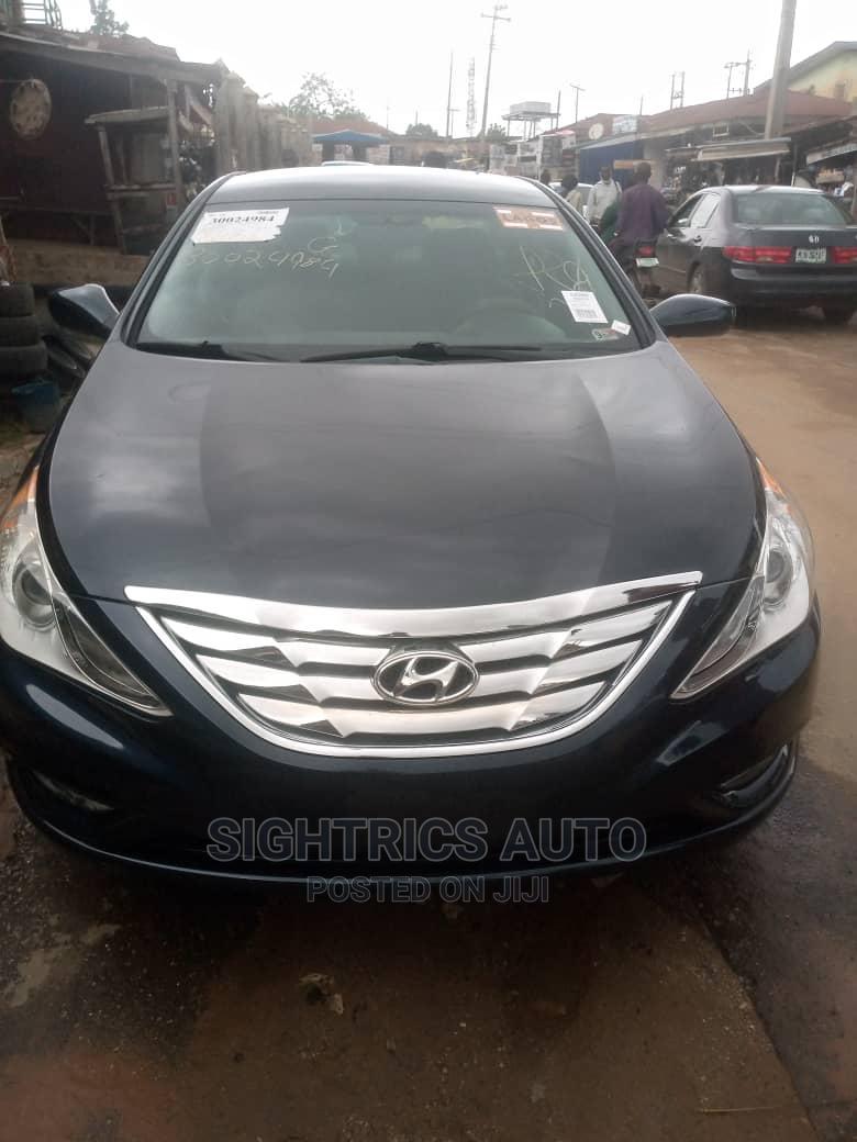 Hyundai Sonata 2013 Black   Cars for sale in Katampe, Abuja (FCT) State, Nigeria