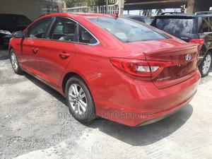 Hyundai Sonata 2017 Red | Cars for sale in Lagos State, Surulere