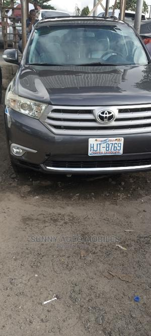 Toyota Highlander 2013 3.5L 2WD Black   Cars for sale in Lagos State, Apapa