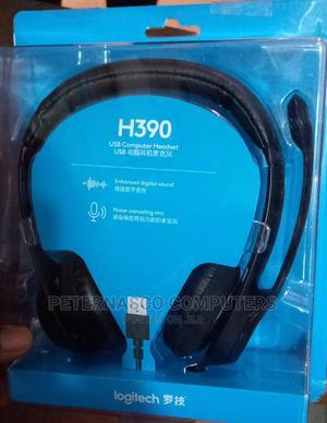Logitech H390 Wired Headset | Headphones for sale in Lagos State, Lagos Island (Eko)