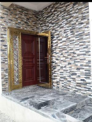 1200m/2100m (4ft)Door Indoor Gold Glass.( Double Door In 1) | Doors for sale in Lagos State, Orile