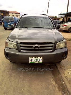 Toyota Highlander 2004 Limited V6 4x4 Gray | Cars for sale in Lagos State, Amuwo-Odofin