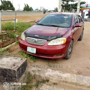 Toyota Corolla 2005 LE Red | Cars for sale in Lagos State, Ifako-Ijaiye