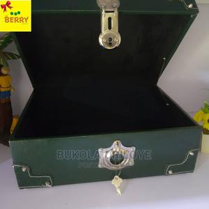 Portable Green Gift Trunk | Arts & Crafts for sale in Lagos State, Surulere