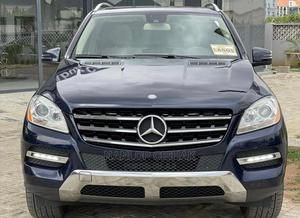 Mercedes-Benz M Class 2013 ML 350 4Matic Blue | Cars for sale in Abuja (FCT) State, Wuse