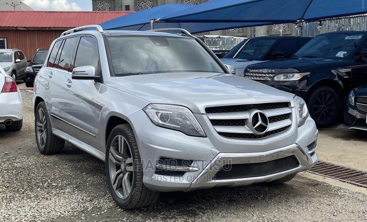 Mercedes-Benz GLK-Class 2013 Silver