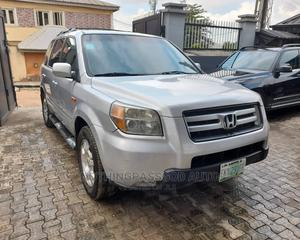 Honda Pilot 2006 EX 4x2 (3.5L 6cyl 5A) Silver | Cars for sale in Lagos State, Ikeja
