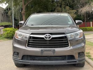 Toyota Highlander 2016 Gray   Cars for sale in Abuja (FCT) State, Asokoro