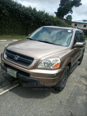 Honda Pilot 2005 EX 4x4 (3.5L 6cyl 5A) Brown | Cars for sale in Lagos State, Mushin