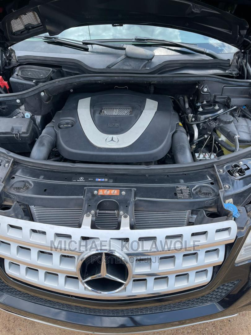 Mercedes-Benz M Class 2010 ML 350 4Matic Black | Cars for sale in Ibadan, Oyo State, Nigeria