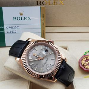 Rolex Leather Watch | Watches for sale in Lagos State, Lagos Island (Eko)