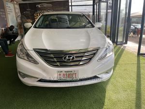 Hyundai Sonata 2015 White | Cars for sale in Abuja (FCT) State, Central Business District