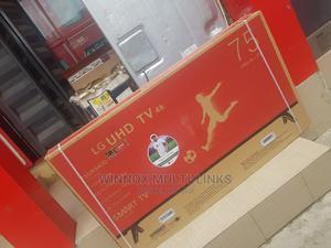 75 Inches Smart 4k Brand New Lg Tv | TV & DVD Equipment for sale in Lagos State, Lekki