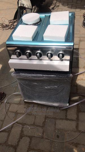 Skyrun 3gas 1 Electric Standing Gas Cooker With Oven | Kitchen Appliances for sale in Lagos State, Ikeja