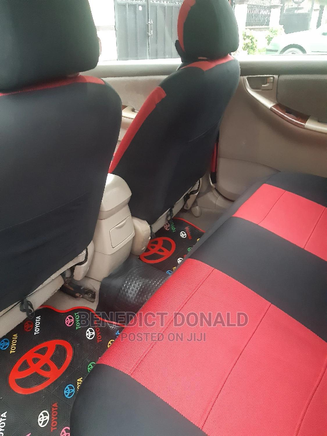Archive: Toyota Corolla 2004 LE Red