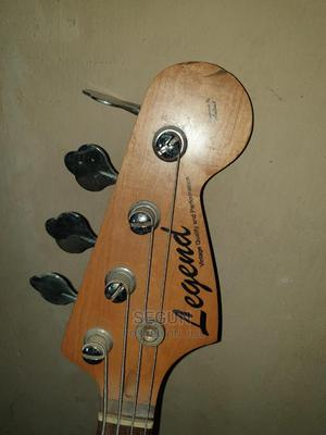 Original Legend Bass Guitar And Aria Combo Speaker   Musical Instruments & Gear for sale in Lagos State, Ikeja