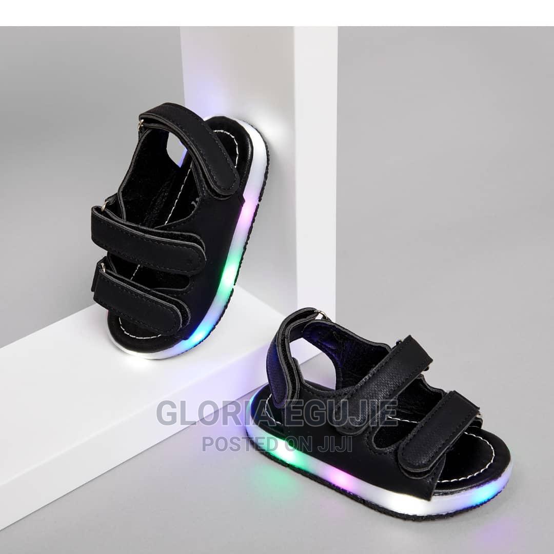 Archive: Toddler/Kid LED Velcro Closure Sandals