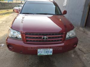 Toyota Highlander 2007 Red   Cars for sale in Lagos State, Ikeja